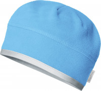 Playshoes Kinder Fleece-Mütze helmgeeignet Aquablau