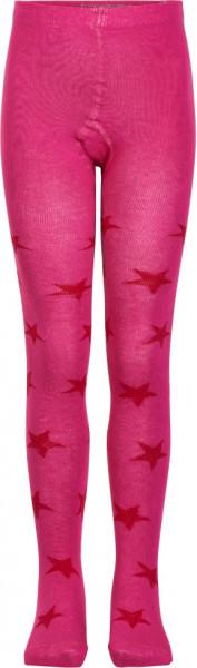 Minymo Kinder Strümpfe Stocking W. Pattern Pink