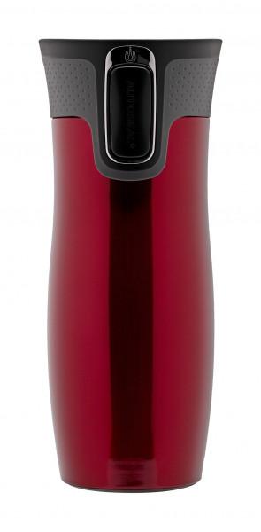 Contigo Thermobecher Westloop Autoseal Red mit 470ML Fassungsvermögen