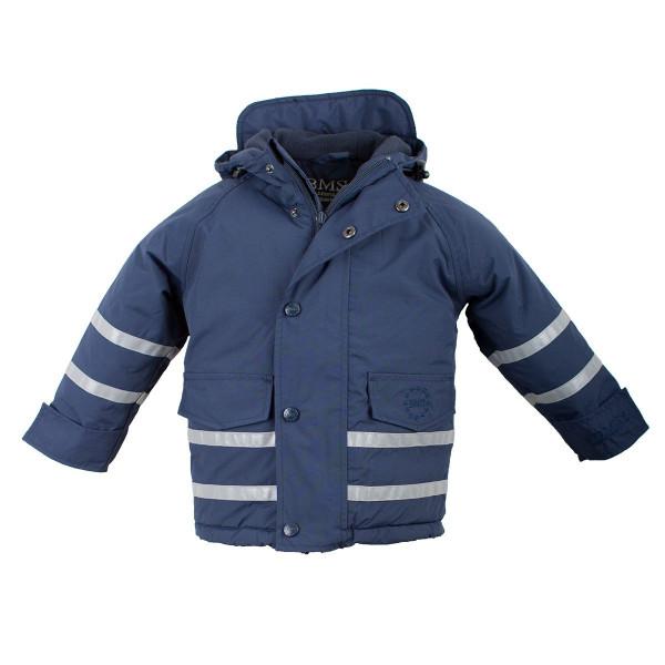 BMS Kinder Jacke Skipperjacke Kids Taslan/Sorona Marine