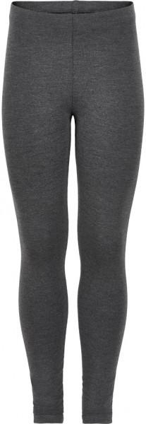 Minymo Mädchen Leggings Leggings Bamboo Dark Grey Melange