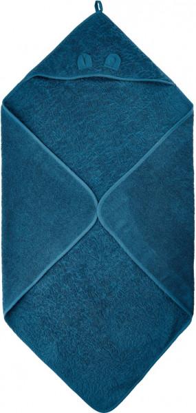 Pippi Baybwear Kinder Badetuch Organic Hooded Towel 83x83 cm Iceblue