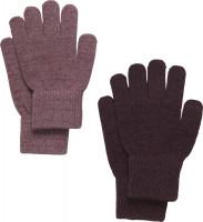 CeLaVi Kinder Handschuh Magic Glitter Gloves (2er Pack) Rose Brown
