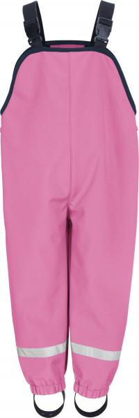 Playshoes Kinder Softshell-Latzhose pink
