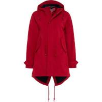 BMS Hafencity Coat Softshell Pro Rot/Marine