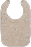 Pippi Babywear Kinder Lätzchen Organic Terry Bib Sandshell