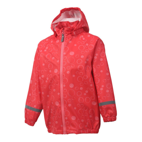 Color Kids Premium Regenjacke Coral Red
