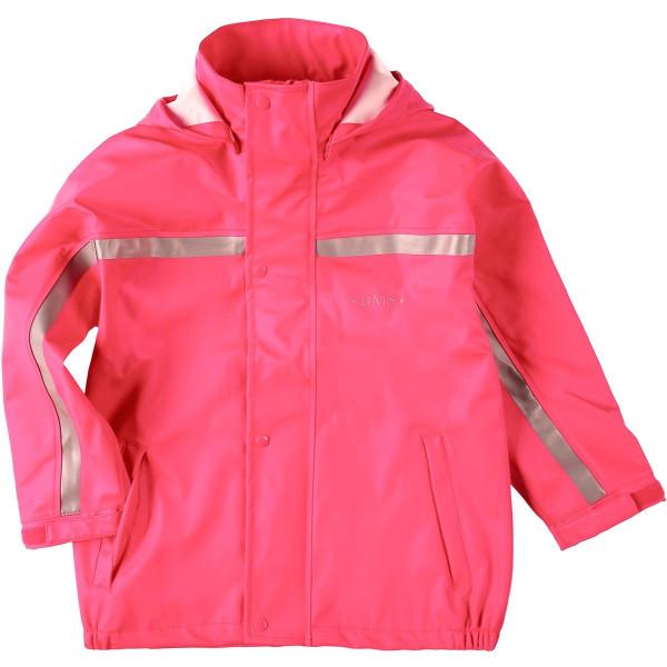BMS Kinder Regenjacke Softskin Buddeljacke Pink