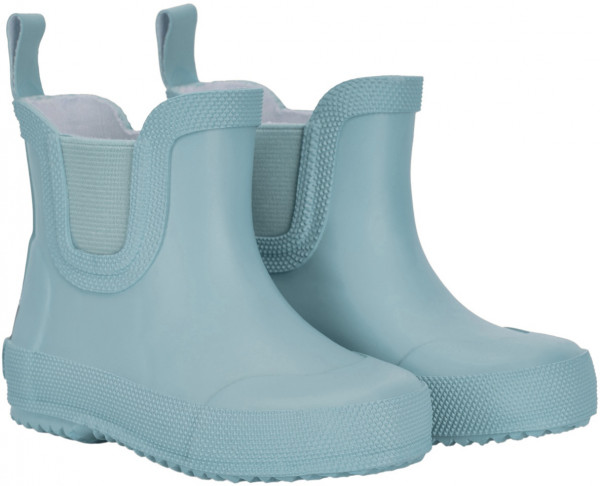 Celavi Kinder Gummistiefel kurz Basic Wellies Short Solid Smoke Blue